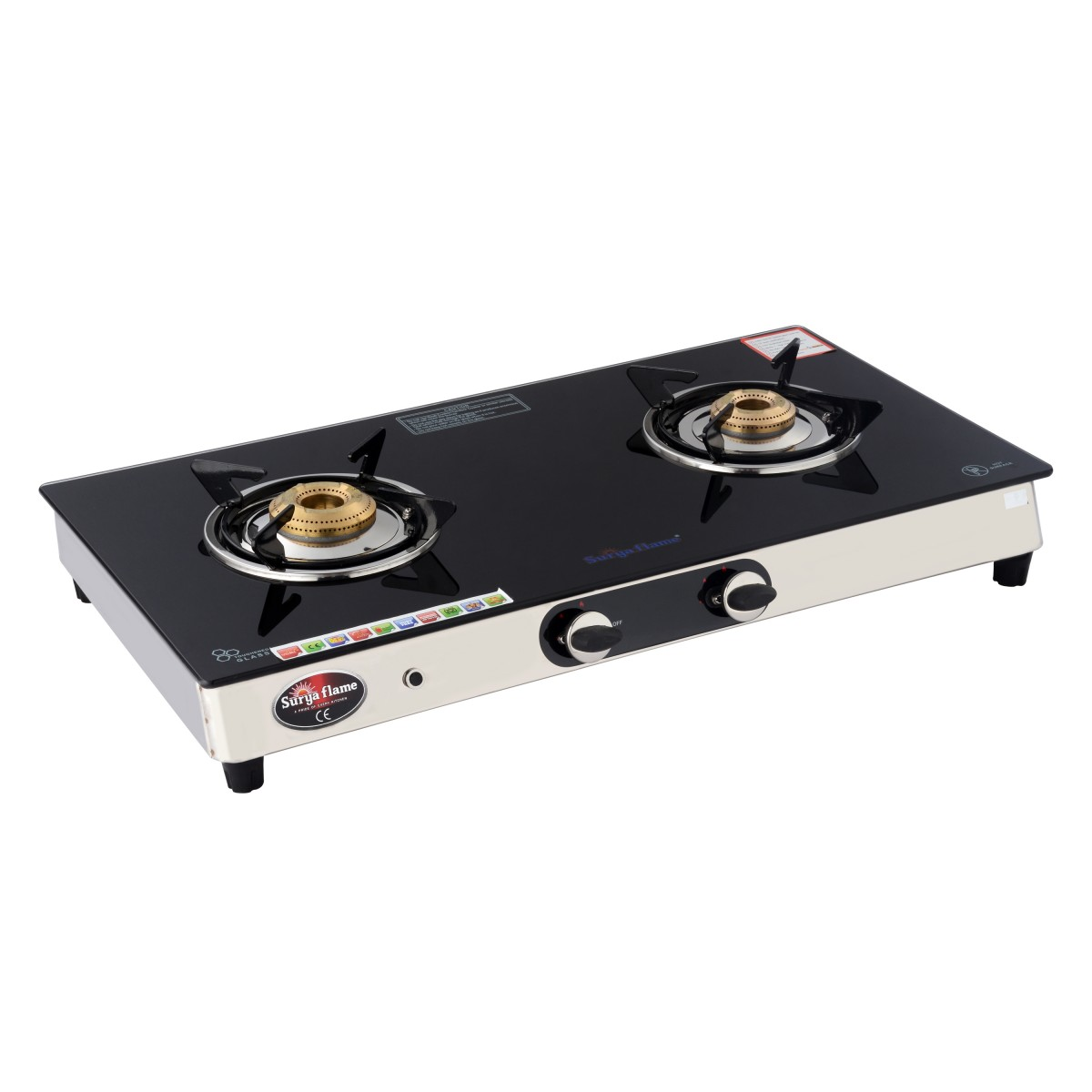 0d5bace490d 2 burner stainless steel gas stove