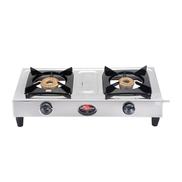 2 Burner Eco Basic SS Body (CI)